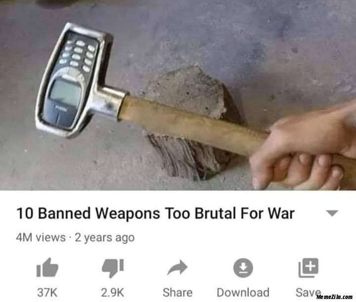 10 banned weapons too brutal for war meaning
