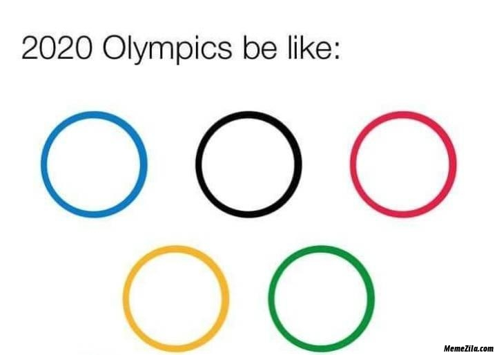 2020 Olympics be like meme