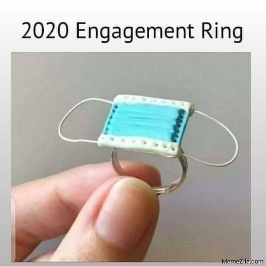 2020 engagement ring meme