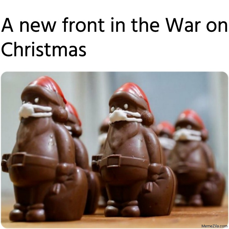 A new front in the War on Christmas meme