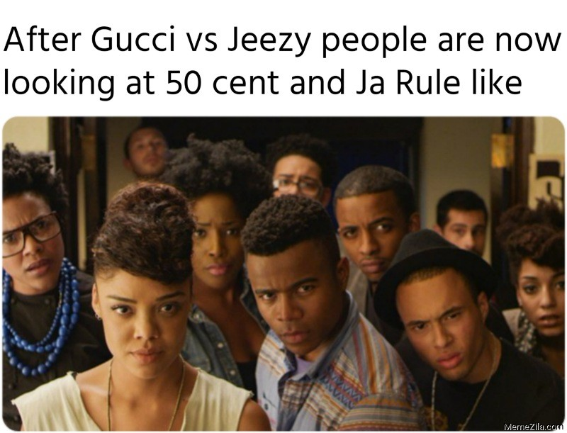 After Gucci vs Jeezy people are now looking at 50 cent and Ja Rule like meme