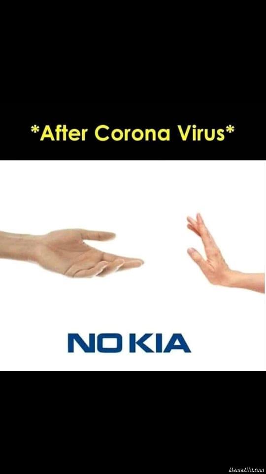 After coronavirus no kia meme