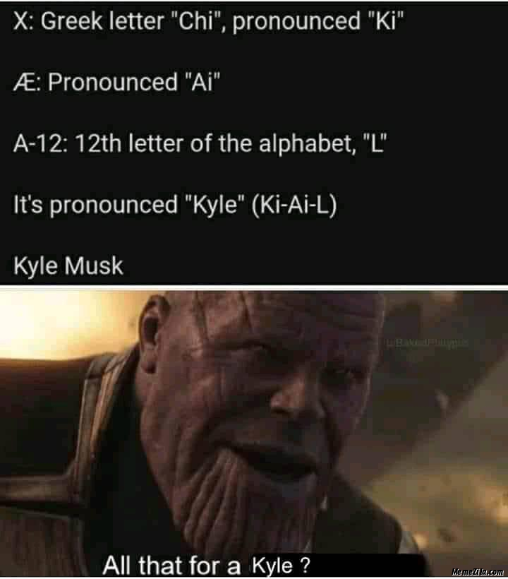 All that for a Kyle meme