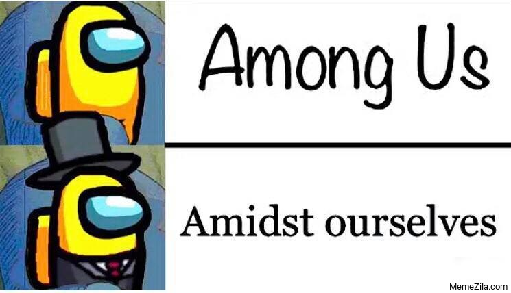 Among us Amidst ourselves meme
