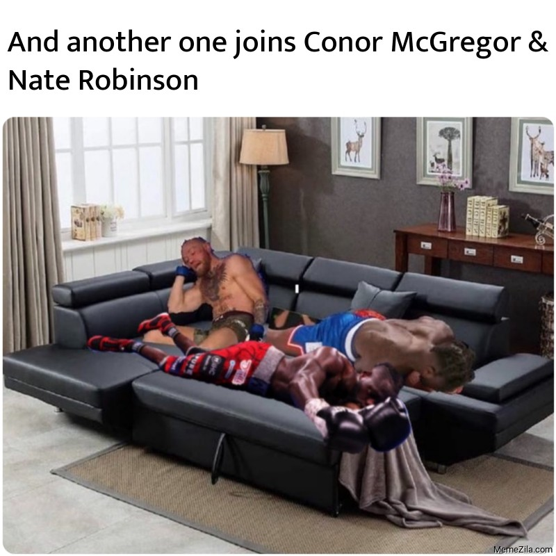 And another one joins Conor McGregor & Nate Robinson meme