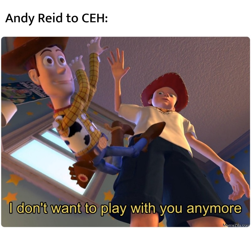 Andy Reid to CEH I don't want to play with you anymeme meme