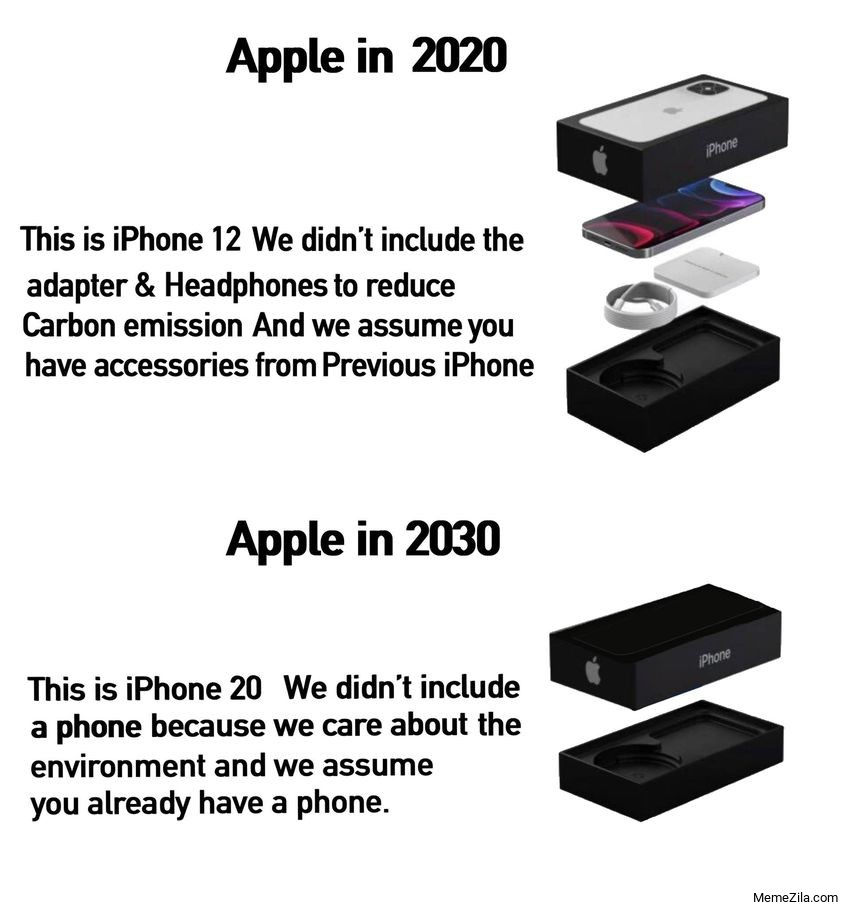 Apple in 2020 vs Apple in 2030 This is iPhone 20 meme