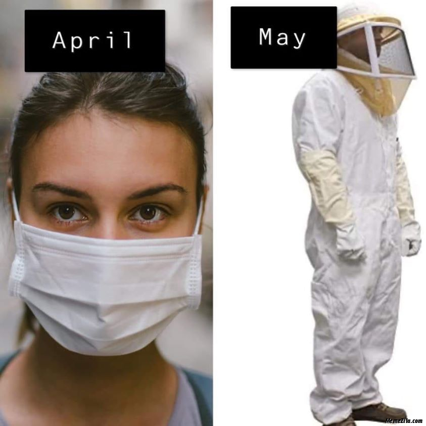 April vs may meme