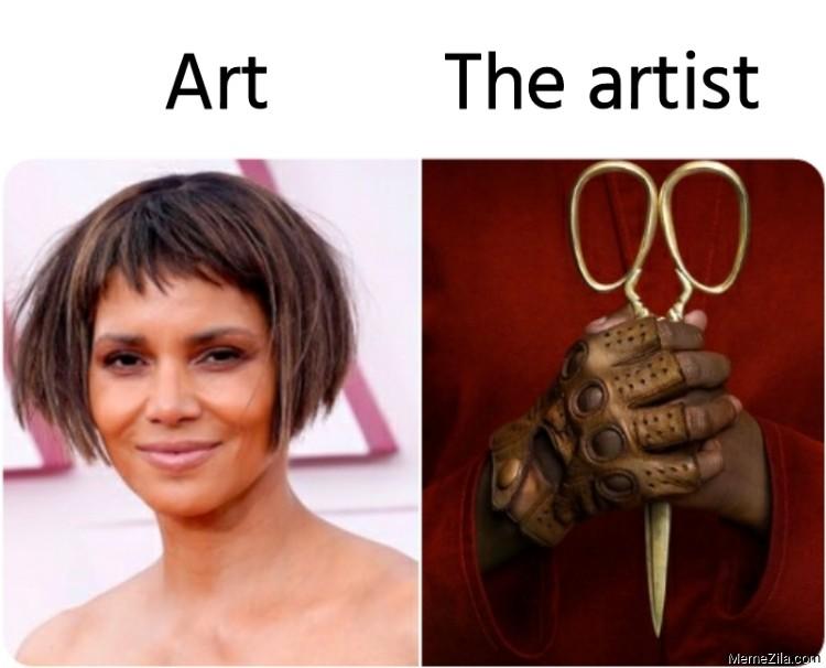 Art  vs The artist meme
