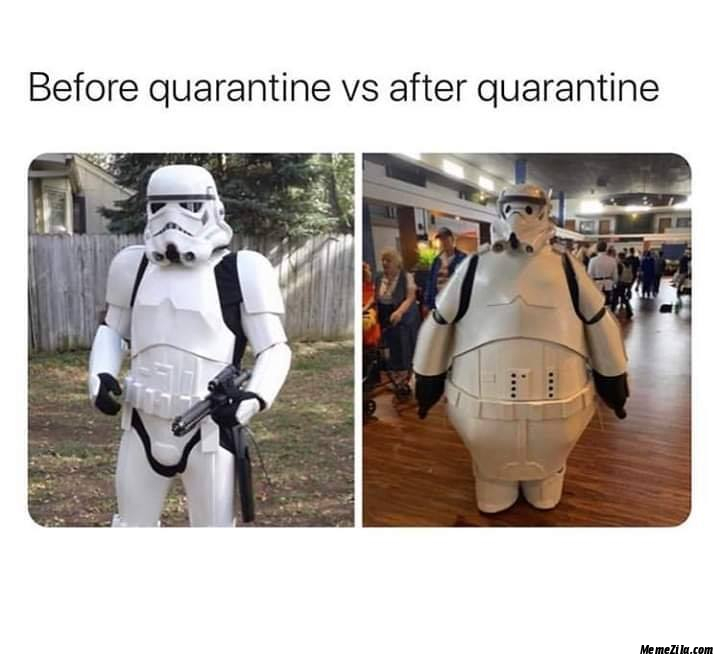 Before quarantine vs After quarantine meme