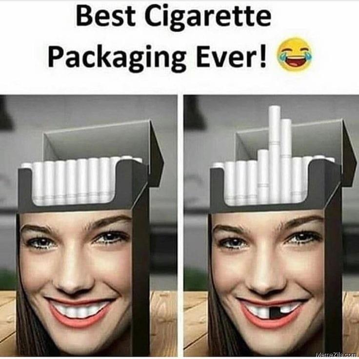 Best cigarette packaging ever meme