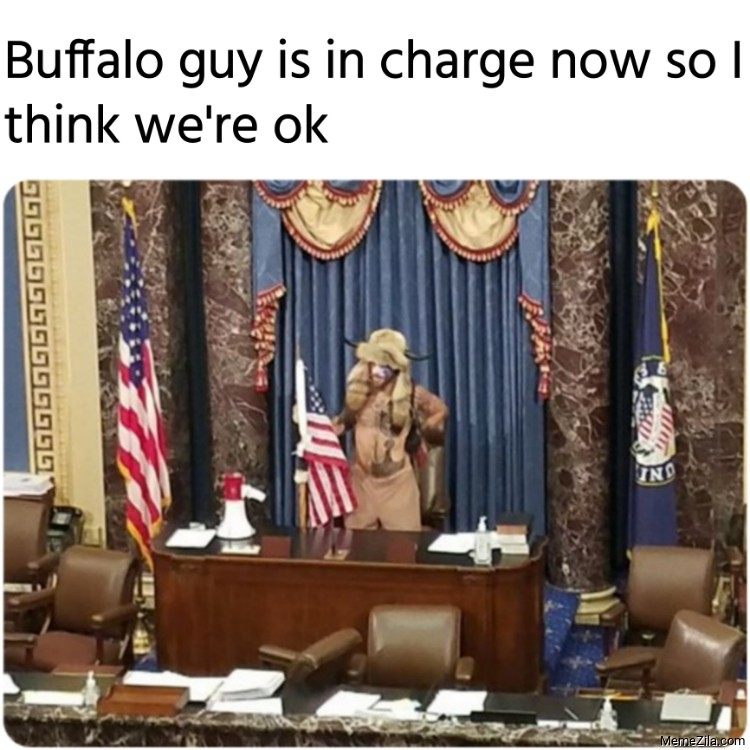 Buffalo guy is in charge now so I think we are ok meme