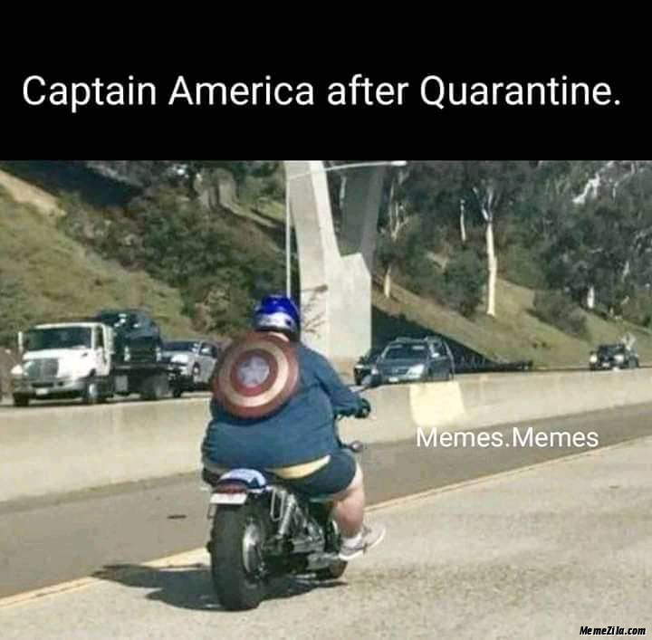 Captain america after quarantine meme