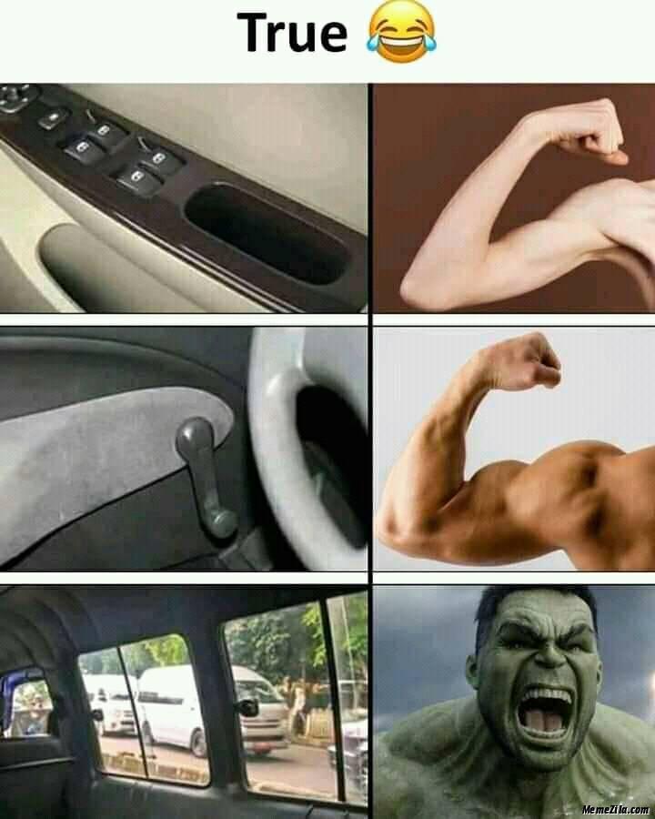 Car side window screen meme