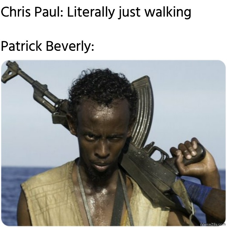 Chris Paul literally just walking Meanwhile Patrick Beverly meme