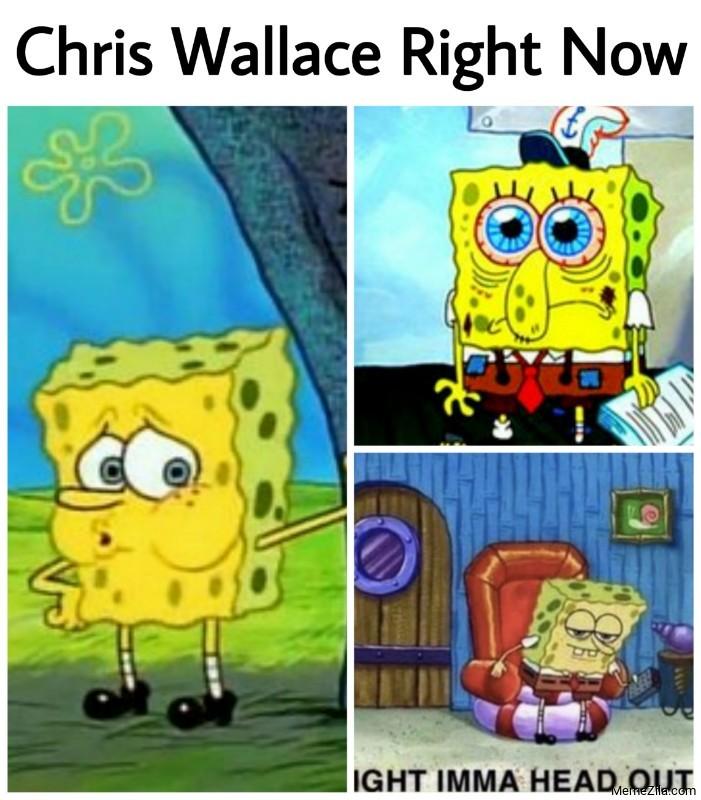 Chris Wallace right now meme