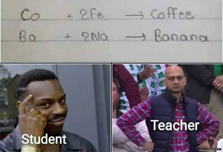 Co 2Fe Coffee Ba 2Na Banana meme