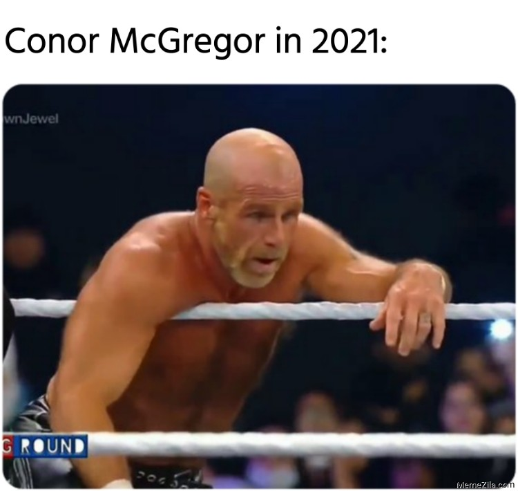 Conor McGregor in 2021 meme