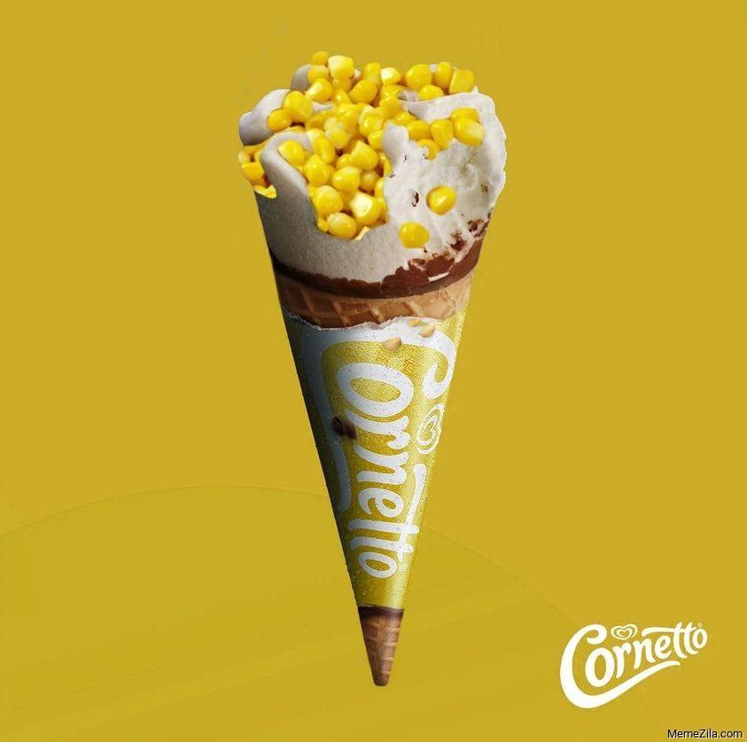 Cornetto corn ice cream meme