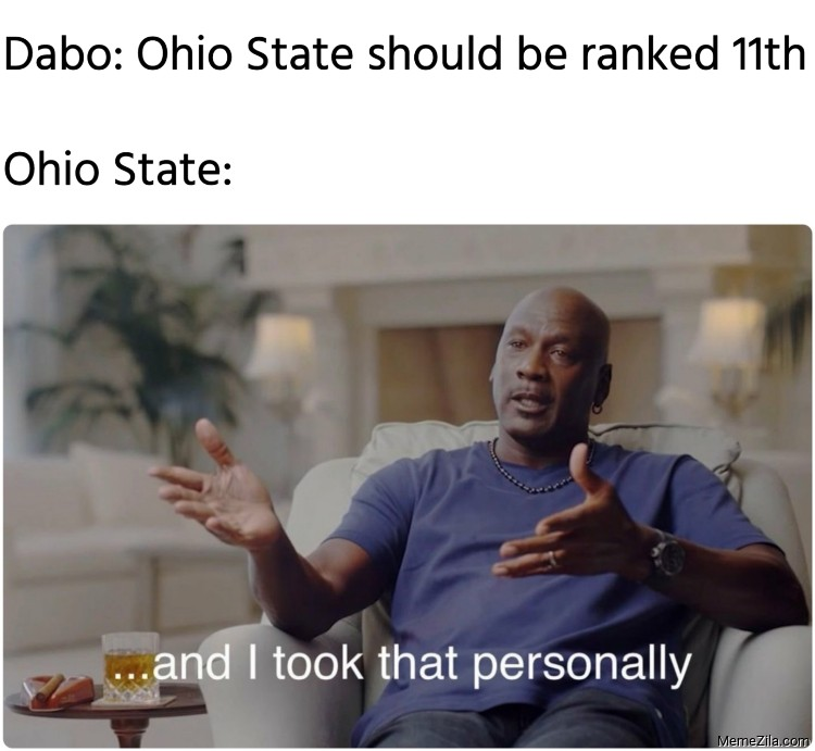 Dabo Ohio State should be ranked 11th Meanwhile Ohio State meme