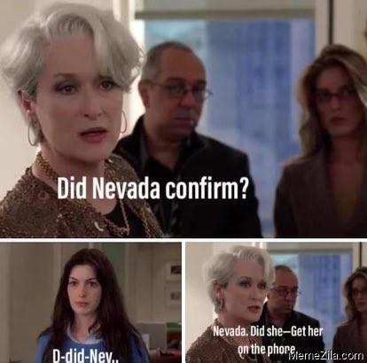 Did nevada confirm Nevada did she Get her on the phone meme