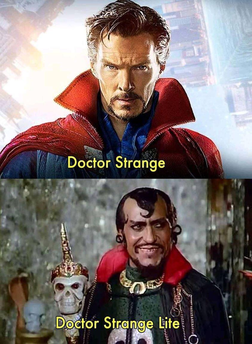 Doctor Strange Lite meme