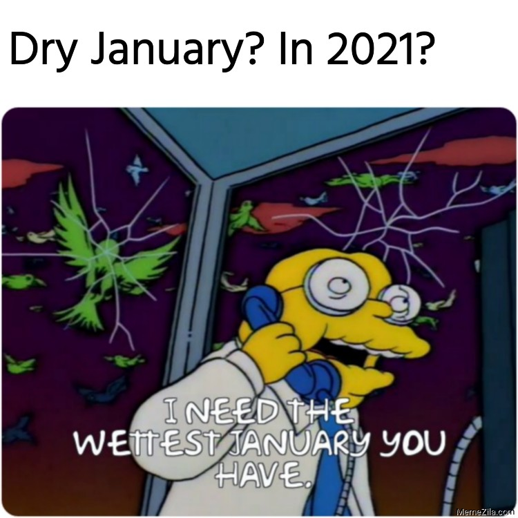Dry january in 2021 I need the wettest january you have meme