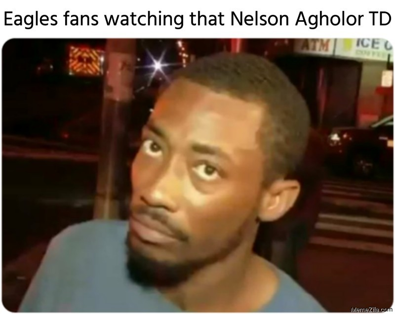 Eagles fans watching that Nelson Agholor TD meme