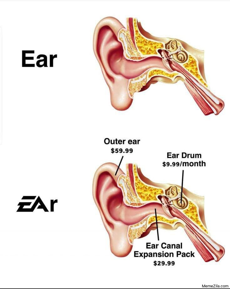 Ear vs EAr meme