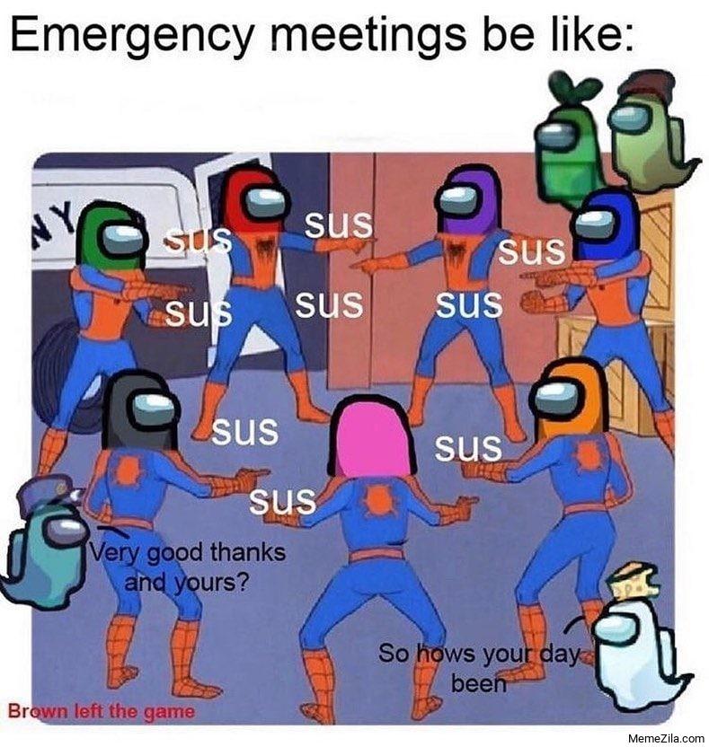 Emergency meetings be like meme