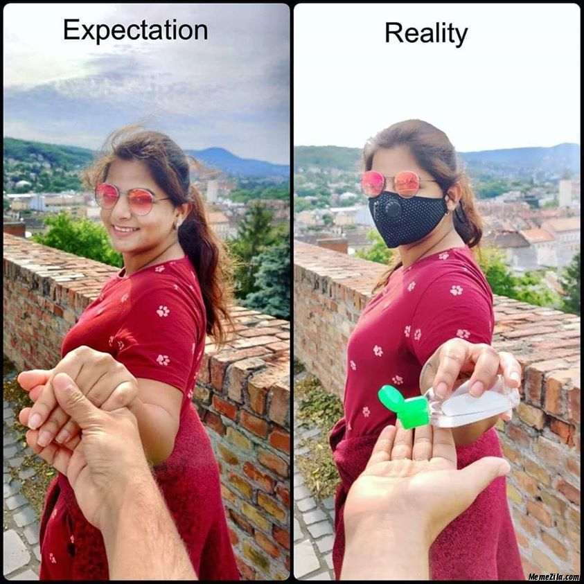 Expectation vs reality meme