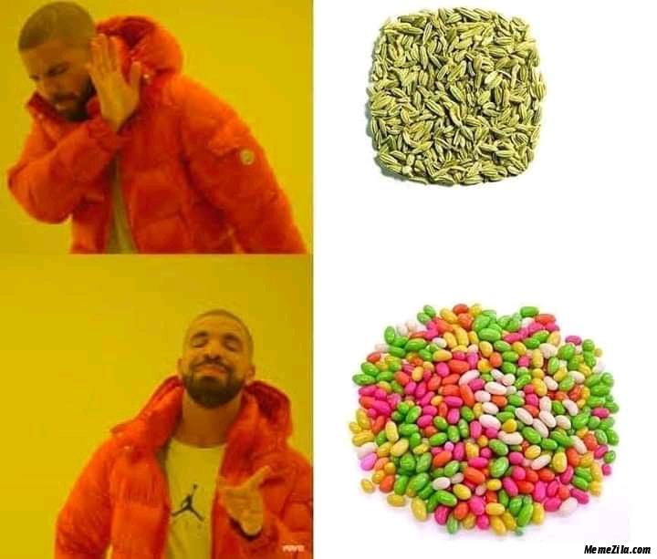 Fennel vs fennel candy meme