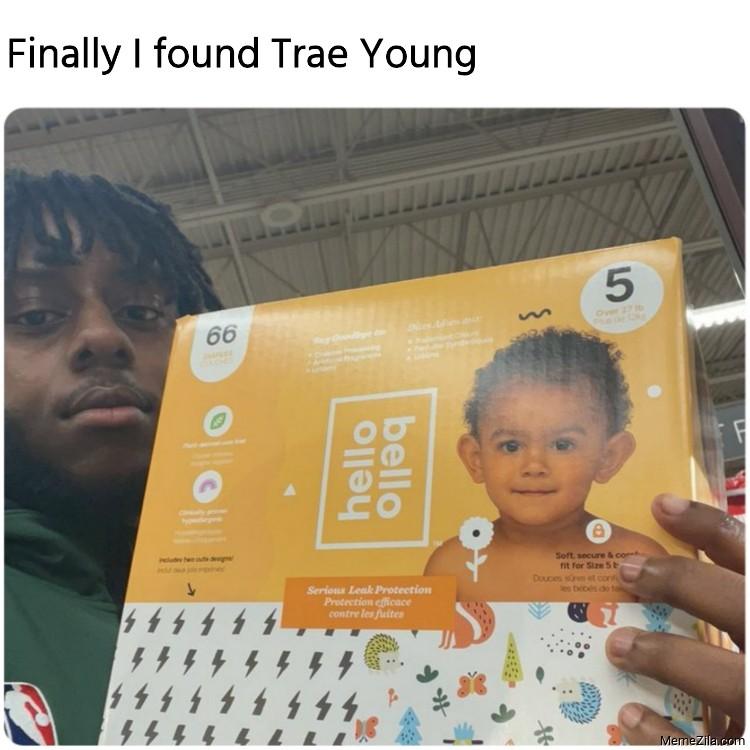 Finally I found Trae Young meme
