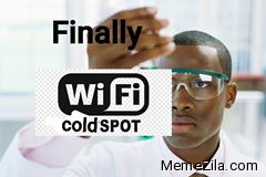Finally Wifi coldspot meme