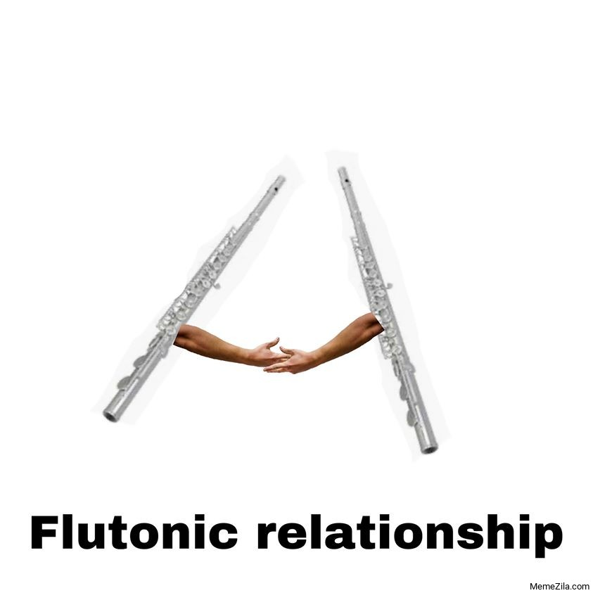 Flutonic relationship meme
