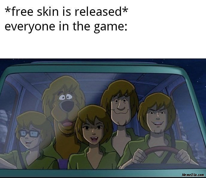 Free screen is released Everyone in the game meme