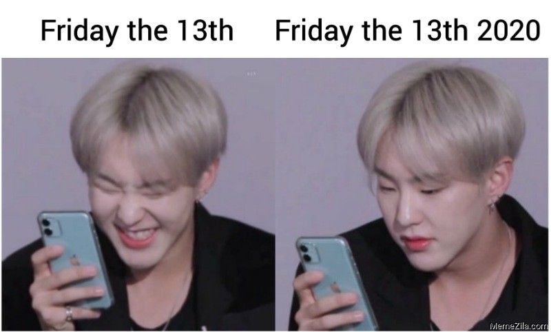 Friday the 13th vs Friday the 13th 2020 meme