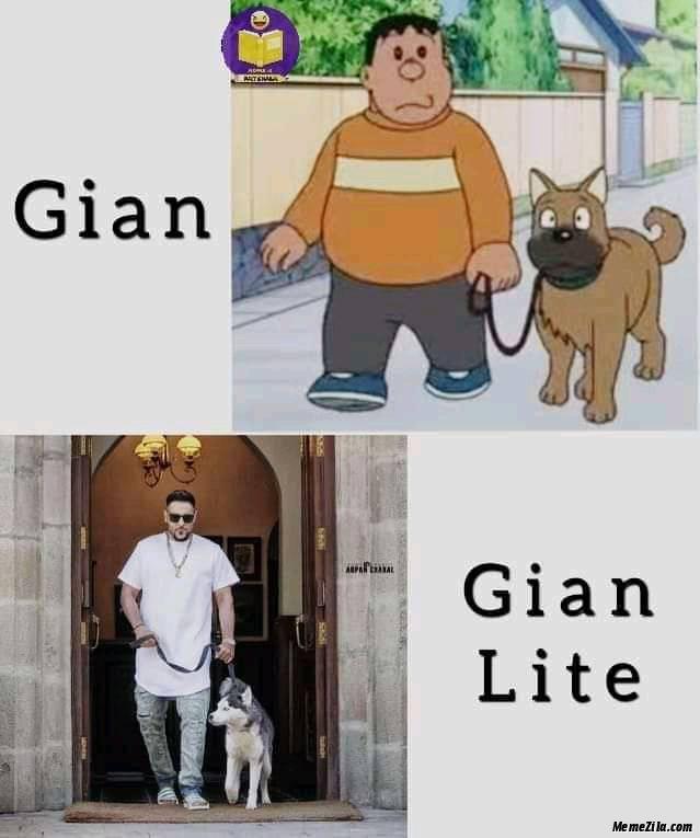 Gian Gian lite meme