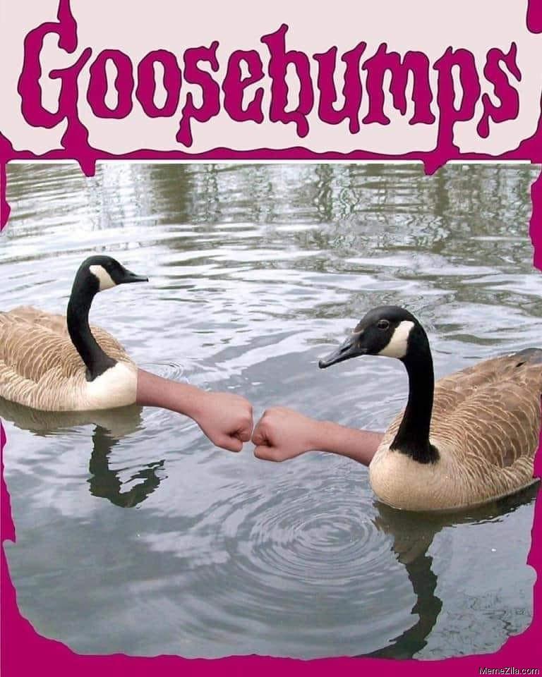 Goosebumps meme