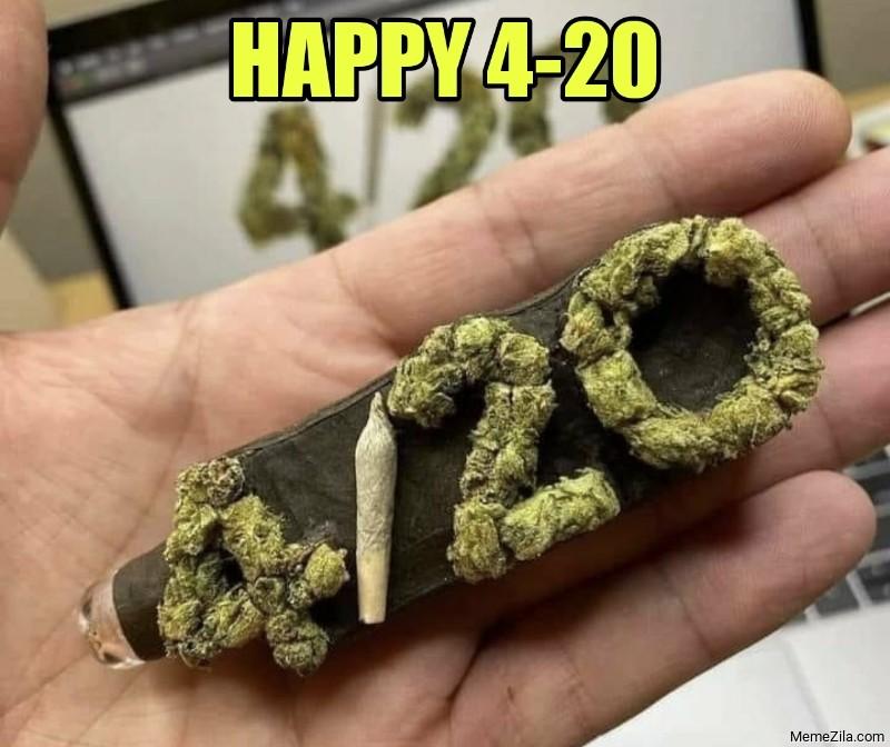 Happy 4-20 meme