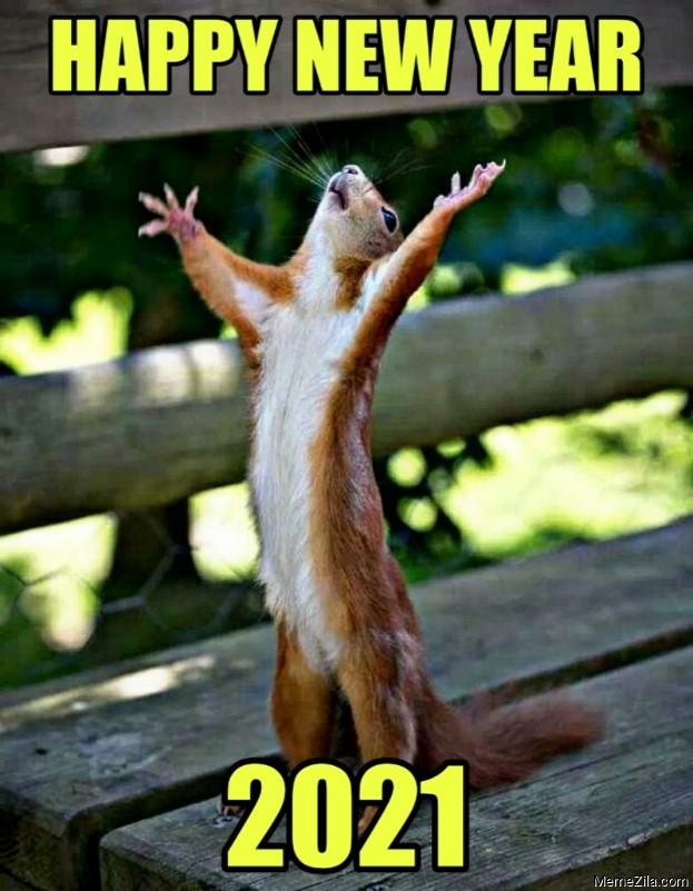 Happy new year 2021 meme - MemeZila.com