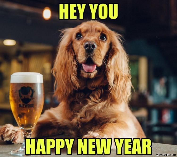 Hey you Happy new year meme