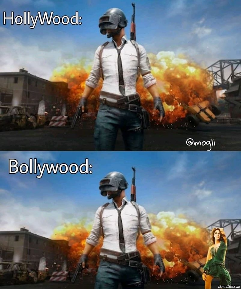 Hollywood vs bollywood meme