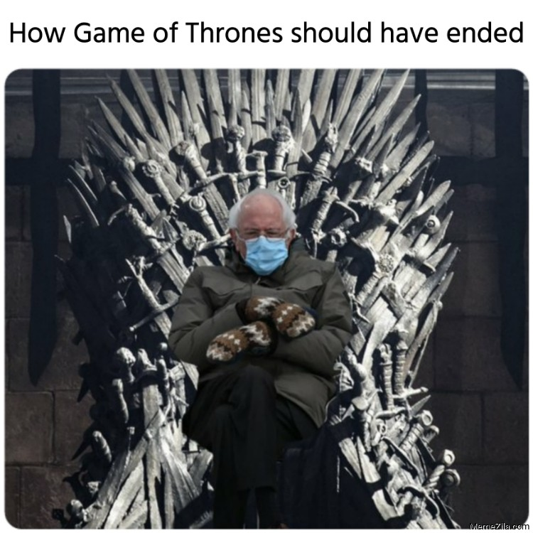 How Game of Thrones should have ended meme