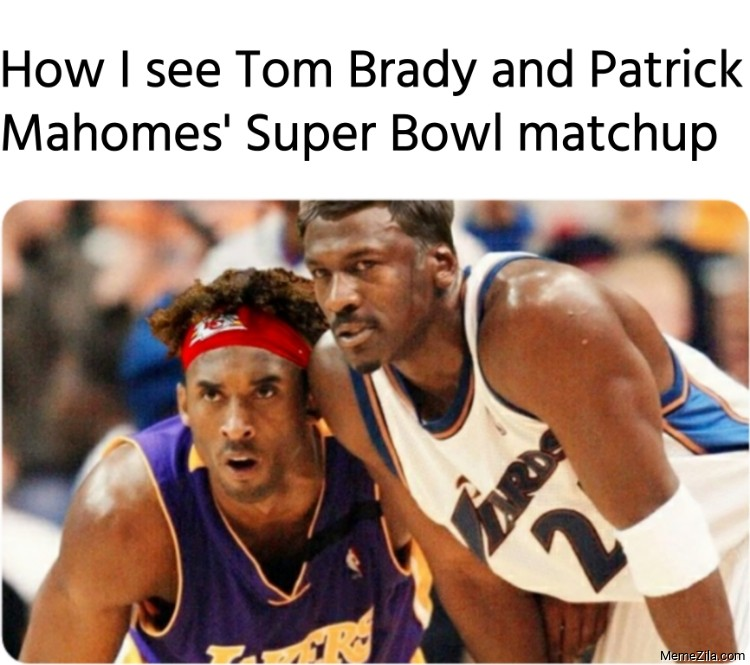 How I see Tom Brady and Patrick Mahomes' Super Bowl matchup meme