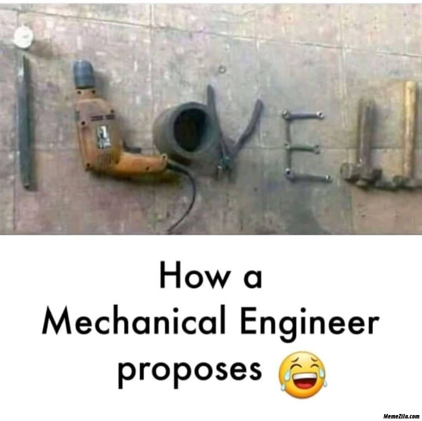 How a mechanical engineer proposes