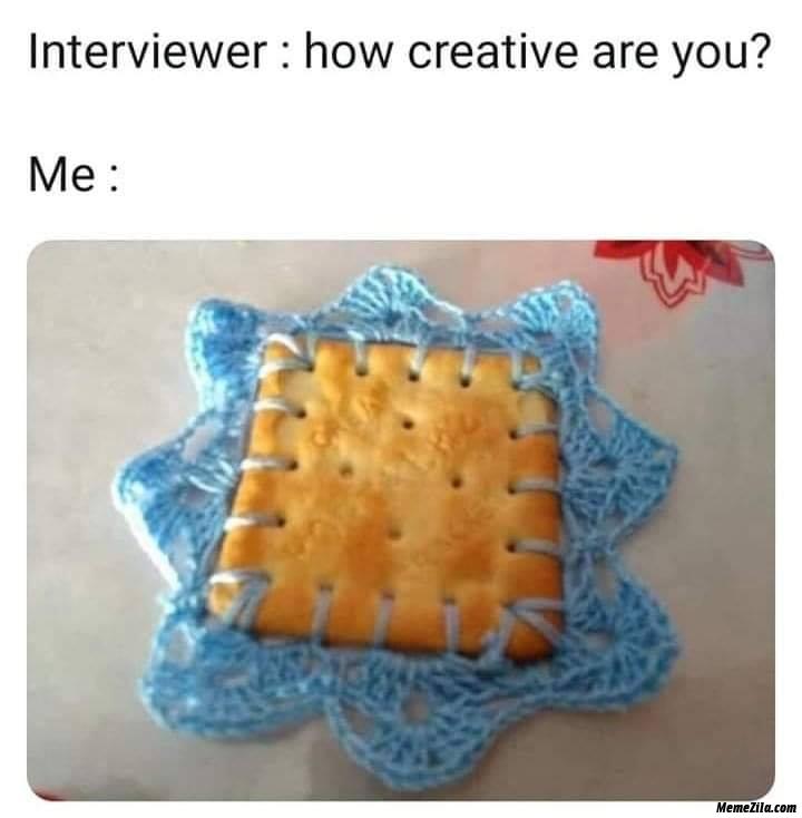 How creative are you meme