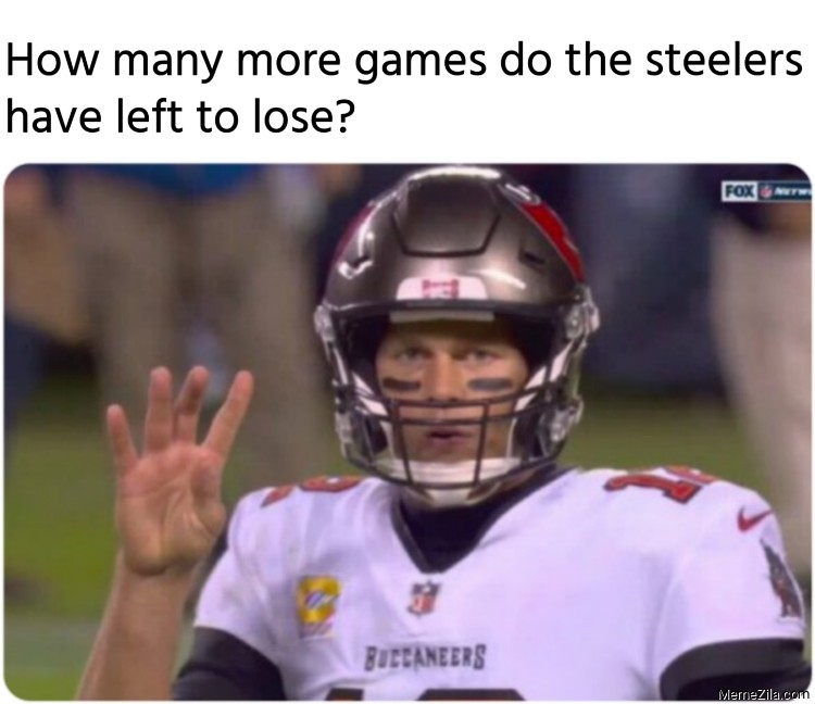 How many more games do the steelers have left to lose meme