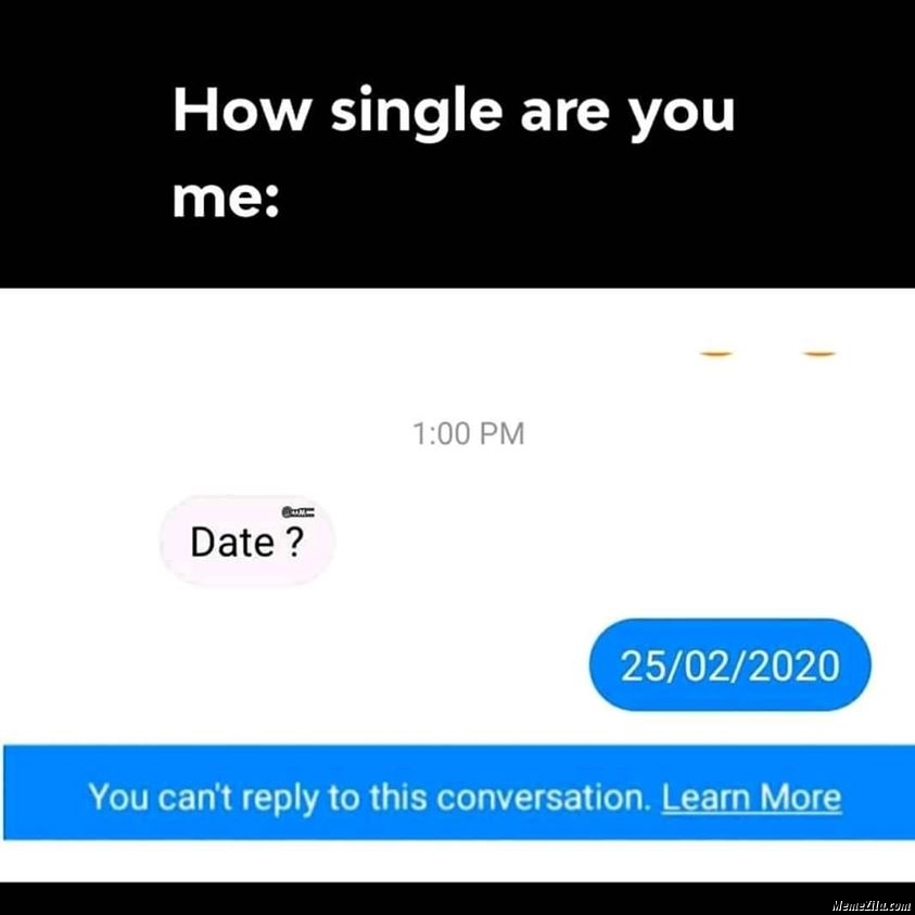 How single are you meme