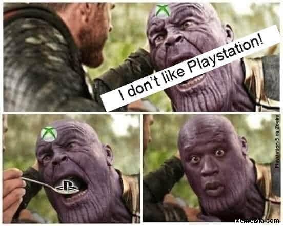 I dont like Playstation meme